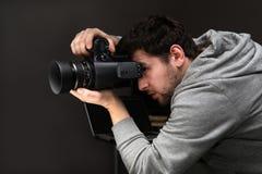 Portrait photographer stock image