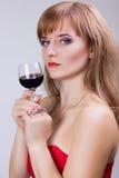 Portrait photographique d'une belle jeune femme Images stock