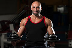 Portrait Of A Physically Fit Mature Man Stock Images