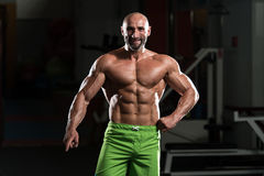 Portrait Of A Physically Fit Mature Man Stock Image