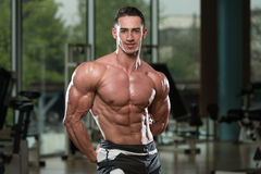 Portrait Of A Physically Fit Muscular Young Man Royalty Free Stock Photography