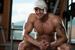Portrait Of A Physically Fit Young Man Stock Images