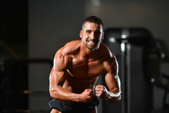 Portrait Of A Physically Fit Young Man Royalty Free Stock Photo