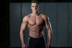 Portrait Of A Physically Fit Young Man Royalty Free Stock Photography
