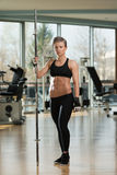 Portrait Of A Physically Fit Young Woman Stock Photo