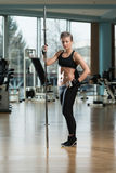 Portrait Of A Physically Fit Young Woman Royalty Free Stock Images