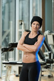 Portrait Of A Physically Fit Young Woman Royalty Free Stock Photography