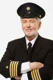 Portrait of a pilot Royalty Free Stock Photos