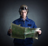 Portrait of a pilot Royalty Free Stock Photo