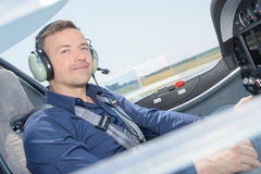 Free Portrait Pilot In Cockpit Airoplane Royalty Free Stock Photos - 88085098