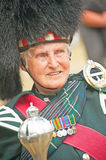 Portrait of Pipe Major Royalty Free Stock Photos