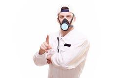 Portrait of a plasterer Stock Photos