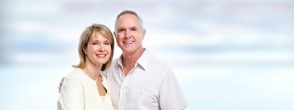 Portrait plus âgé de couples image libre de droits