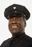 Portrait of a police officer Stock Photos