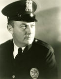 Portrait of a policeman Stock Photo