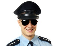Portrait of policeman Royalty Free Stock Images