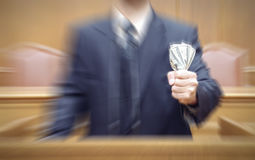 Portrait of a politician Royalty Free Stock Photo