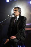 Portrait of the popular Italian composer Toto Cutugno . Photo ta Stock Images