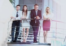 Business people meeting in a modern office Stock Image