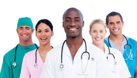 Portrait of positive medical team Stock Image
