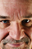 Portrait of positivity senior man with a beard Stock Photos