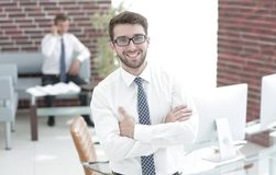 Portrait of a practising lawyer Royalty Free Stock Photography