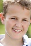 Portrait Of Pre-Teen Boy Smiling Stock Image