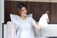 Portrait of pregnant Asian woman Royalty Free Stock Photo