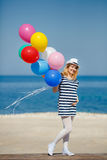 Portrait of pregnant woman with sunglasses and hat Royalty Free Stock Photos