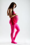Portrait of a pregnant young woman Stock Photo