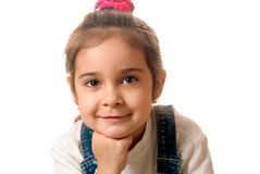 Portrait of preschool child Stock Images