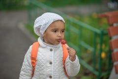 Portrait of preschooler girl Stock Image