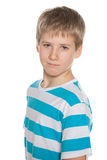 Portrait of a preteen boy Royalty Free Stock Photo