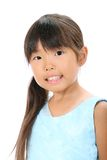 Portrait of pretty asian girl Stock Photography