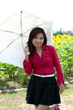 Portrait of pretty Asian woman posing. royalty free stock photos