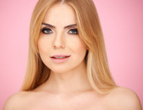 Portrait of a pretty blond Stock Image