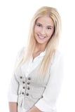 Portrait of pretty blond girl Royalty Free Stock Photo