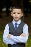 Portrait of a pretty boy Royalty Free Stock Image