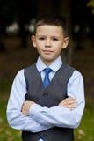 Portrait of a pretty boy Stock Photos