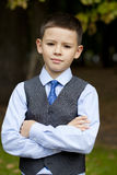 Portrait of a pretty boy Royalty Free Stock Images