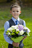 Portrait of a pretty boy Royalty Free Stock Photo