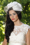 Portrait of a pretty bride Royalty Free Stock Photography