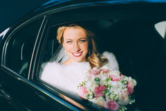 Portrait of a pretty bride Royalty Free Stock Image