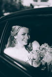 Portrait of a pretty bride Royalty Free Stock Images
