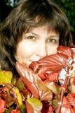Portrait pretty brunette Royalty Free Stock Photos