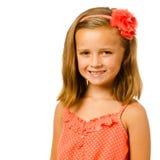 Portrait of pretty child Stock Photo