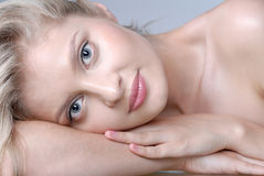 Portrait of pretty girl Stock Images