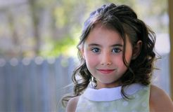 Portrait of pretty girl Royalty Free Stock Images