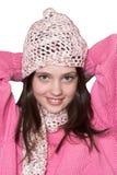 Portrait of pretty girl Royalty Free Stock Photos