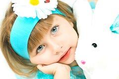 Portrait of pretty girl Stock Photo